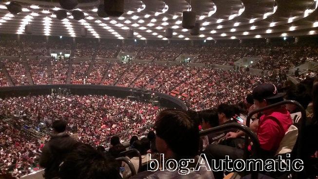 ホール キャパ 城 大阪